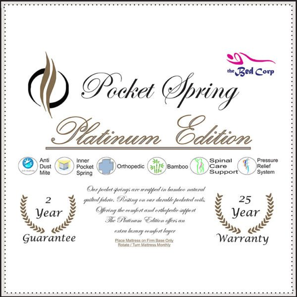 Pocket Spring Platinum