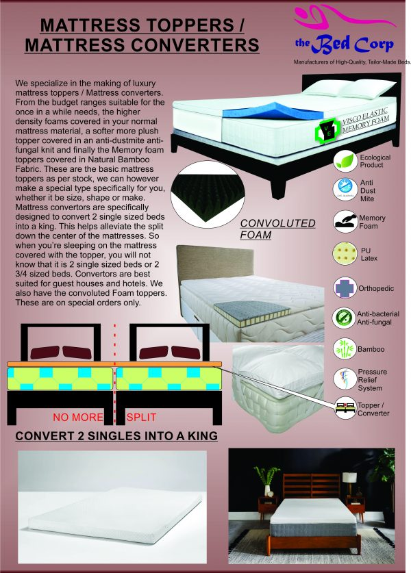 Bed Corp Toppers